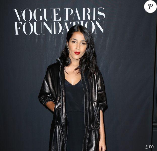 Leïla Bekhti à lasoirée Vogue Foundation Gala lors de la fashion week à Paris, le 5 juillet 2016