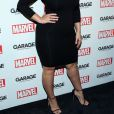 "Ashley Graham - Soirée ""Marvel and Garage Magazine"" à New York le 11 février 2016."