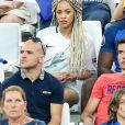 Sephora (Compagne Kingsley Coman) lors du match de l'Euro 2016 Allemagne-France au stade Vélodrome à Marseille, France, le 7 juillet 2016. © Cyril Moreau/Bestimage