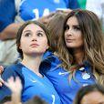 Marine Lloris (Femme de Hugo Lloris) lors du match de l'Euro 2016 Allemagne-France au stade Vélodrome à Marseille, France, le 7 juillet 2016. © Cyril Moreau/Bestimage