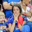 Camille Sold (Compagne de Morgan Schneiderlin) après le match de la finale de l'Euro 2016 Portugal-France au Stade de France à Saint-Denis, France, le 10 juillet 2016. © Cyril Moreau/Bestimage