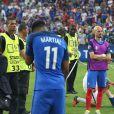 Anthony Martial - Déception des joueurs de l'équipe de France après leur défaite face au Portugal lors de la finale de l'Euro 2016 à Saint-Denis le 10 juillet 2016. © Cyril Moreau / Bestimage