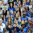 Les wags lors du match de la finale de l'Euro 2016 Portugal-France au Stade de France à Saint-Denis, France, le 10 juillet2016. © Cyril Moreau/Bestimage
