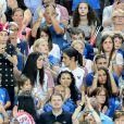 Wags et famille lors du match de la finale de l'Euro 2016 Portugal-France au Stade de France à Saint-Denis, France, le 10 juillet2016. © Cyril Moreau/Bestimage