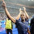 Patrice Evra - Match de quart de finale de l'UEFA Euro 2016 France-Islande au Stade de France à Saint-Denis le 3 juillet 2016. © Cyril Moreau / Bestimage