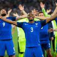 Patrice Evralors du match France-Allemagne à Marseille, le 7 juillet 2016.