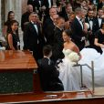 Bastian Schweinsteiger et Ana Ivanovic ont célébré leur mariage religieux à Venise, en l'église Santa Maria della Misericordia, le 13 juillet 2016, en présence de près de 300 invités. La veille, le footballeur allemand et la tenniswoman serbe s'étaient unis civilement au Palazzo Ca' Farsetti, l'Hôtel de Ville de la cité des doges.