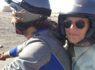 Laure Manaudou à moto avec son chéri Jérémy Frérot : Elle nage dans le bonheur