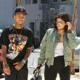 Tyga et Kylie Jenner arrive aux Milk Studios à Los Angeles, le 19 juillet 2016.