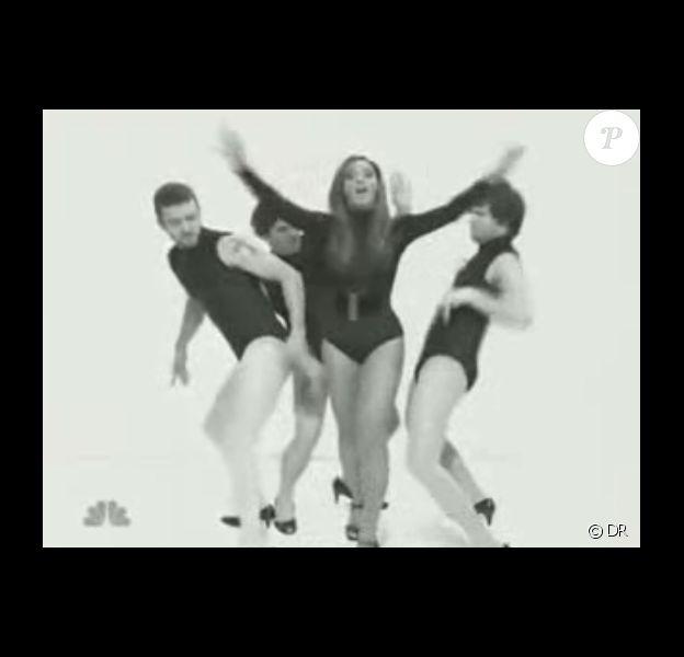 Justin Timberlake et Beyoncé Knowles dans SNL