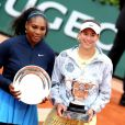 Serena Williams, Garbine Muguruza - Garbine Muguruza remporte les Internationaux de France de tennis de Roland Garros face à Serena Williams le 4 Juin 2016. © Jacovides - Moreau /Bestimage