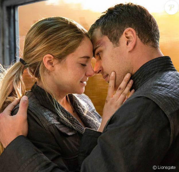 Shailene Woodley et Theo James, les deux héros de Divergente.