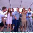 """Laurent Luyat et Cyril Féraud font leurs adieux à """"Village Départ"""", dimanche 24 juillet 2016, sur France 3"""