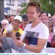 """Laurent Luyat et Cyril Féraud dans la dernière de """"Village Départ"""", dimanche 24 juillet 2016, sur France 3"""