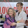 "Marta Marzotto et Beatrice Borromeo - Inauguration de l'exposition ""Love Design"" à Milan le 10 décembre 2015."