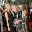 Beatrice Borromeo et Marta Marzotto lors du 58e Festival de Cannes, pour la projection de Star Wars III, La revanche des Sith le 15 mai 2005
