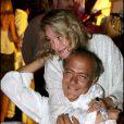 Fawaz Gruosi et Marta Marzotto au Billionaire en Sardaigne le 8 août 2005