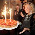 EXCLUSIF - MARTA MARZOTTO lors de la soirée de ses 80 ans à Venise en mars 2011
