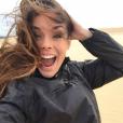 Marine Lorphelin en vacances avec son chéri en Australie, juin 2016.