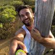 Christophe, le petit ami de Marine Lorphelin, heureux à Tahiti en 2015.