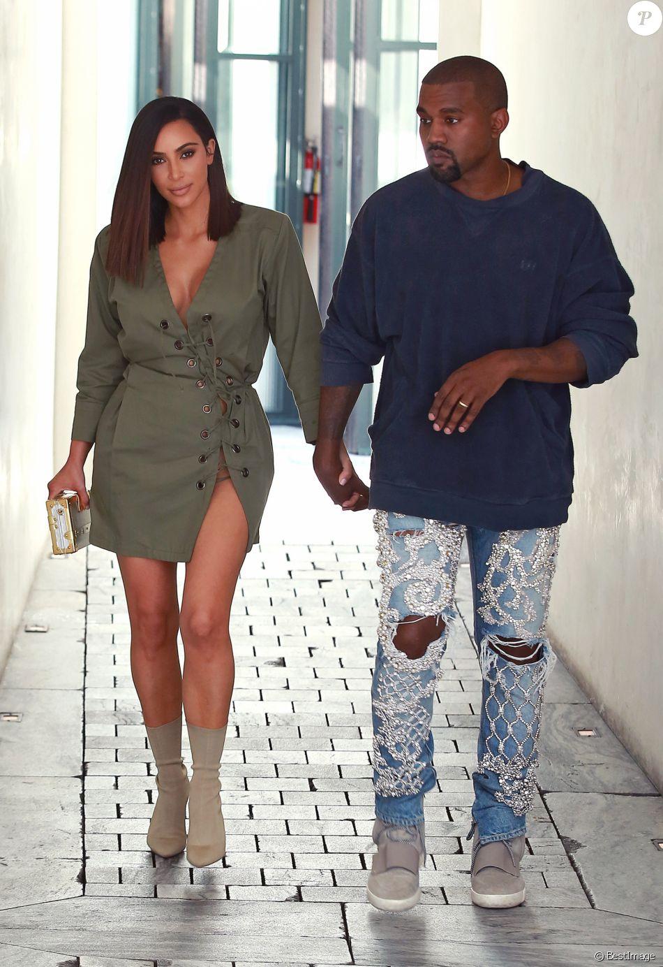 Kim Kardashian Change De Look Nouvelle Coiffure Et Tenue