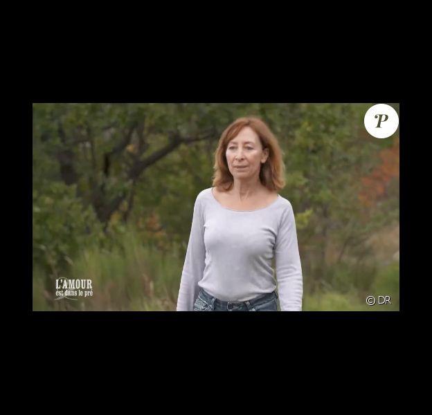 Monique au casting de L'amour est dans le pré 2016