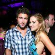 Brody Jenner, Lauren Conradlors de la soirée Us Weekly's Hot Hollywood à Los Angeles, le 17 avril 2008