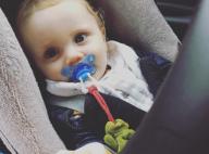 "Sandrine Corman, maman fière de son petit Harold : ""Neuf mois aujourd'hui..."""