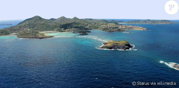 Saint-Barthélemy, une perle des Antilles qui compte parmi ses résidents réguliers Johnny Hallyday et sa famille.