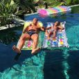 Cristiano Ronaldo en vacances à Ibiza avec son fils en juillet 2016. Photo Instagram.