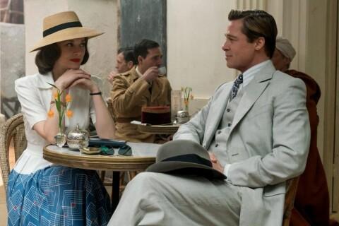 """Marion Cotillard et Brad Pitt, deux beaux amants charmés et déjà """"Alliés"""""""
