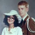 Les parents d'Amélie Neten, il y a 39 ans, le jour de leur mariage. Un cliché révélé le 4 août 2016.