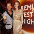"""Marcel Remus, Marcia Cross lors de la soirée """"Lifestyle Night"""" à Palma de Majorque, Espagne, le 4 août 2016."""