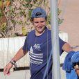Felipe Froilan Marichalar - Les enfants de la famille royale d'Espagne lors de leur dernier jour de cours de voile à Majorque. Le 5 août 2016