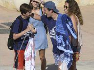 Elena et Cristina d'Espagne : Leurs enfants chahutent joyeusement à Majorque