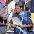 Felipe Juan Froilan Marichalar - Les enfants de la famille royale d'Espagne lors de leur dernier jour de cours de voile à Majorque. Le 5 août 2016  Spanish young royals celebrate end of sailing classes at Calanova Club sailing school in Mallorca. August 5, 201605/08/2016 - Palma de Majorque