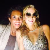 Karine Le Marchand et Paris Hilton, réunies à Ibiza : Une photo improbable !