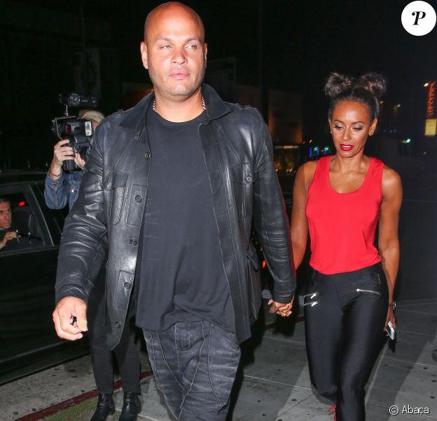 Mel B et son mari Stephen Belafonte se voient refuser l'entrée au club The Nice Guy. Ils donc allés faire la fête chez The Largo. Le 8 août 2016
