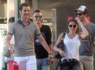 Capucine Anav et Louis Sarkozy, amoureux et complices à Saint-Tropez