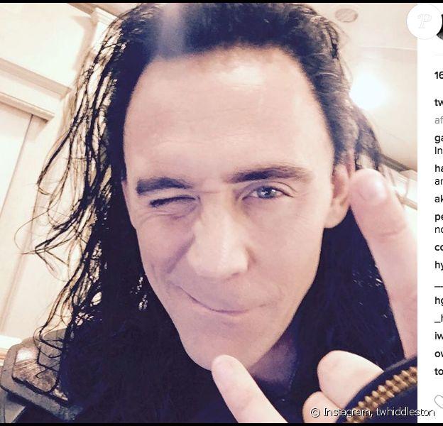 Tom Hiddleston débarque sur Instagram. Photo publiée, le 9 août 2016