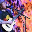 Ed Sheeran en concert à Sydney. Le 9 décembre 2015