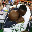 Teddy Riner lors de la finale de Judo (+ 100kg) à Rio, le 12 août 2016