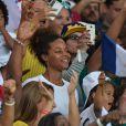 Luthna Plocus, compagne de Teddy Riner lors des JO de Rio, le 11 août 2016