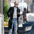 Ashley Olsen se promène dans les rues de Tribeca à New York, le 27 octobre 2015