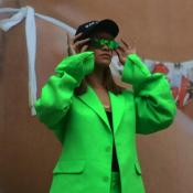 Rihanna : Diva survoltée au McDo
