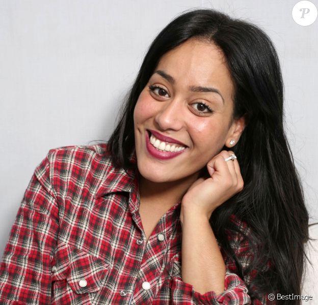Portrait de Amel Bent le 12 février 2014