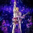 Prince en concert à Manchester. Le 16 mai 2014