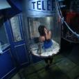 Fabienne Carat dans Fort Boyard, diffusé le 27 août 2016.