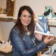 """Marion Bartoli à la Soirée de lancement de la collection """"Premier Envol"""" des sneakers de luxe """"Marion Bartoli by Musette"""" à la boutique Musette à Paris, le 2 juin 2014"""