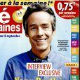 Magazine Télé 2 semaines, en kiosques le 29 août 2016.